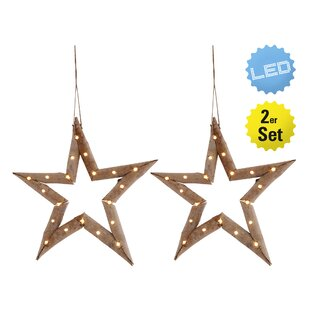 20 Light Star Lamp (Set Of 2) By The Seasonal Aisle