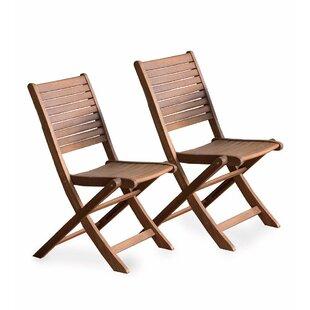 Eucalyptus Bistro Folding Patio Dining Chair