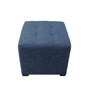Harlee Tufted Cube Ottoman by ..
