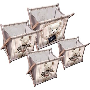 Teddy 4 Piece Magazine/Storage Rack ...  sc 1 th 225 & Teddy 4 Piece Magazine/Storage Rack Set By House Additions | Find ...