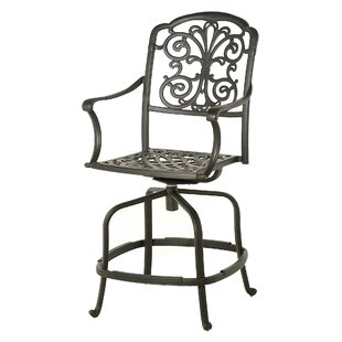 Merlyn Swivel Patio Bar Stool (Set of 2)
