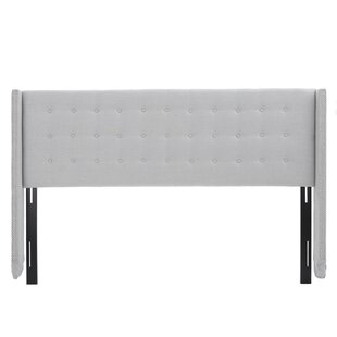 Greenleaf King Upholstered Wingback Headboard by Darby Home Co