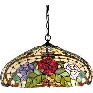 Warehouse of Tiffany 2-Light Dome Pendant