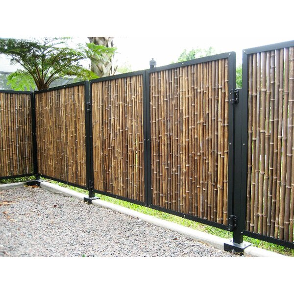 Outdoor Bamboo Fence | Wayfair