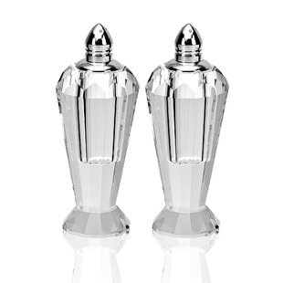 Salt and Pepper Shaker Set By Badash Crystal