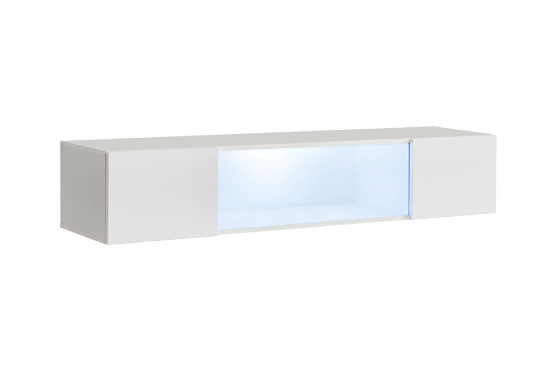 kaira wall mounted media floating shelf