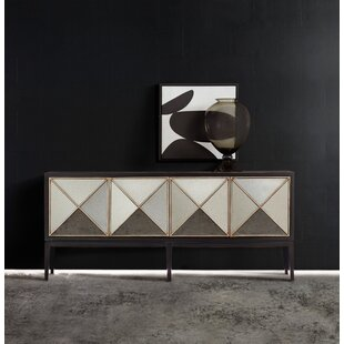 Melange Jova 4-Door Credenza by Hooker Furniture