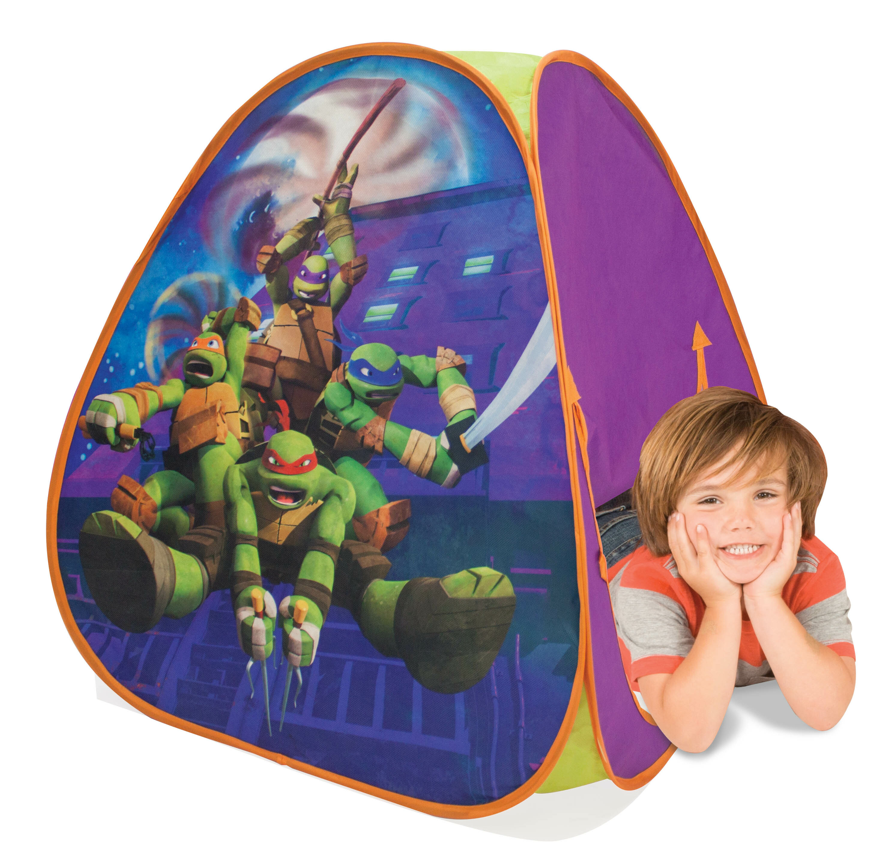 Playhut Teenage Mutant Ninja Turtles Classic Hideaway Play Tent u0026 Reviews | Wayfair  sc 1 st  Wayfair & Playhut Teenage Mutant Ninja Turtles Classic Hideaway Play Tent ...