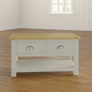 Wellington Painted 2 Drawer Coffee Table With Storage By House Of Hampton