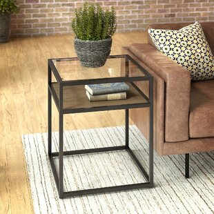 Alcantar End Table with Storage by Williston Forge