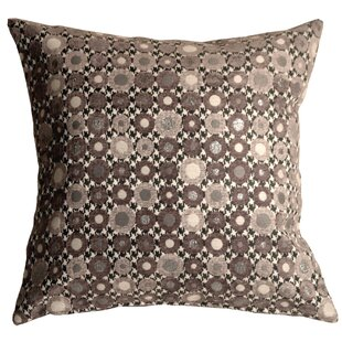 Stoneman Spheres Square Throw Pillow by Wrought Studio #2