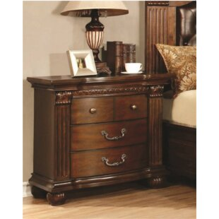 Underwood 4 Drawer Nightstand by Fleur De Lis Living