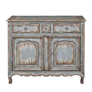 Heines Farmhouse 2 Door Accent Cabinet by One Allium Way