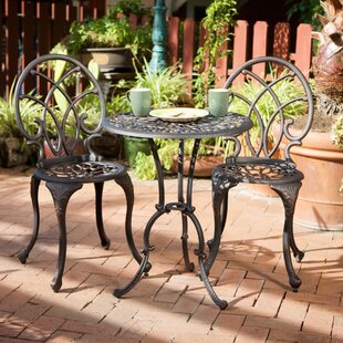 Astoria Grand Messer 3 Piece Bistro Set