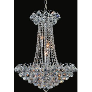 CWI Lighting Glimmer 11-Light Chandelier