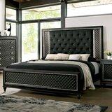 Mccready Tufted Standard Bed by Rosdorf Park