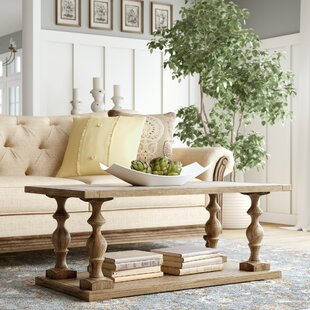 Best Price Atchison Pedestal Coffee Table by Lark Manor Reviews (2019) & Buyer's Guide