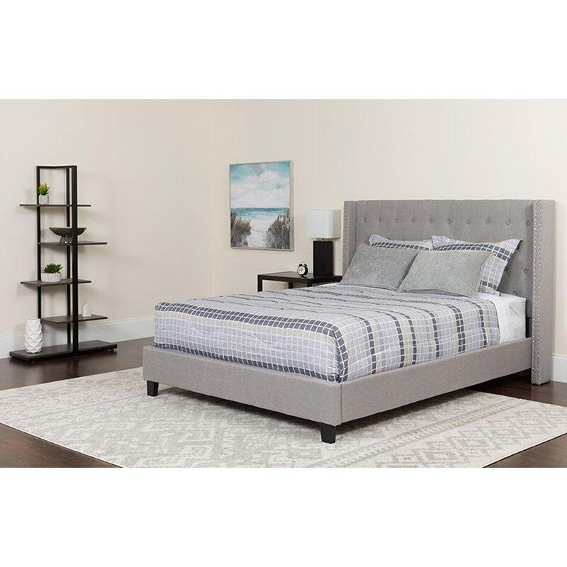 Winston Porter Avia Tufted Full Upholstered Platform Bed Wayfair