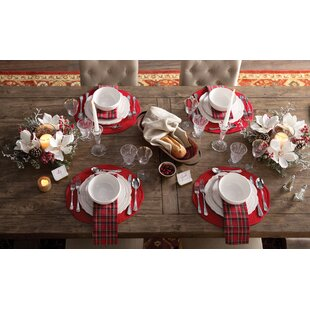 Pattern For Placemats For Round Table.Round Placemats You Ll Love In 2019 Wayfair