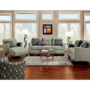 Violette Configurable Living Room Set by Hok..