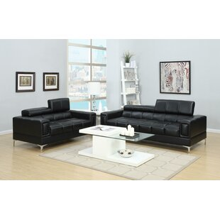 Lydon 2 Piece Foldable Headrests Sectional Set by Latitude Run