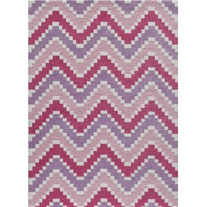 Anita Hand-Tufted Pink Area Rug
