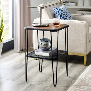 Affordable Price Thorne End Table by Union Rustic