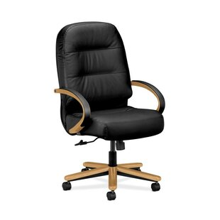 HON Pillow Soft High-Back Leather Executive Chair