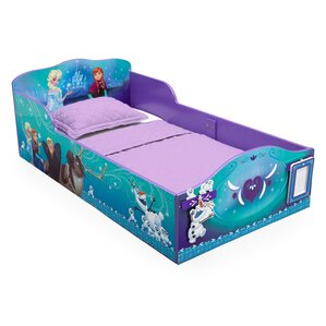 Toddler Bed with Track Buddies by Delta Children
