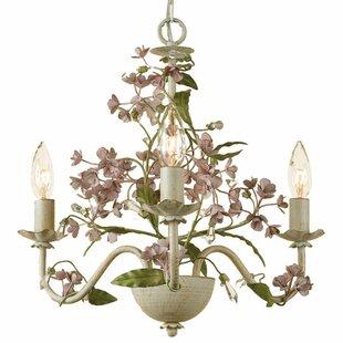 Mariário 3-Light Candle Style Chandelier