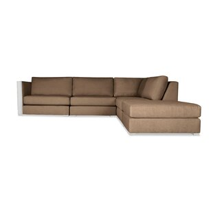 Steffi Modular Sectional with Ottoman by Orren Ellis