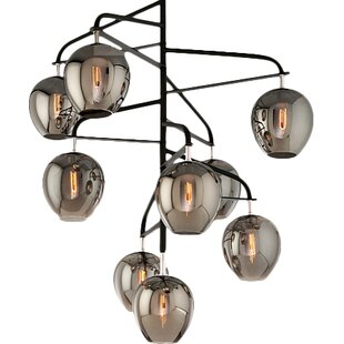 Brayden Studio Satchell 9-Light Sputnik Chandelier