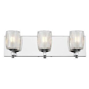 House of Hampton Frost 3-Light LED Bath Bar
