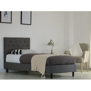 Castle Heights Upholstered Bed Frame By Ophelia & Co.