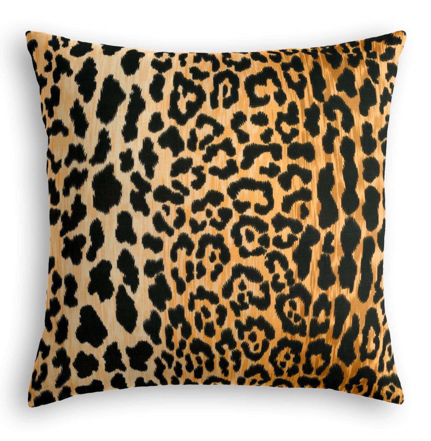 22 Square Animal Print Throw Pillows You Ll Love In 2021 Wayfair