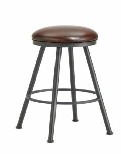 Alexander 26 Swivel Bar Stool by Iron Mountain Great Reviews