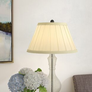 Round Box Pleat 16 Linen Empire Lamp Shade