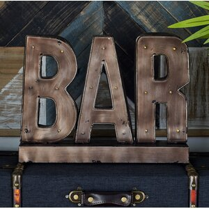 Bodie LED Bar Sign Letter Block