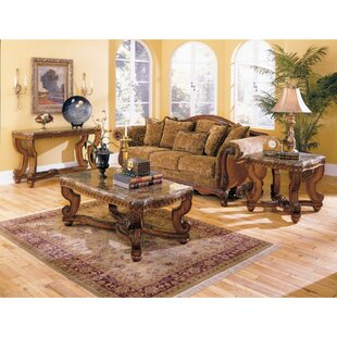 Astoria Grand Imperial 3 Piece Coffee Table Set