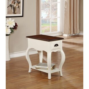 Annika End Table by Alcott Hill