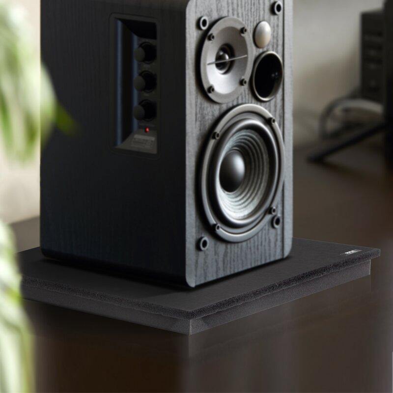 Sound Dampening Universal Speaker Riser