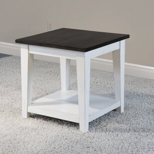 Helton End Table by Breakwater Bay