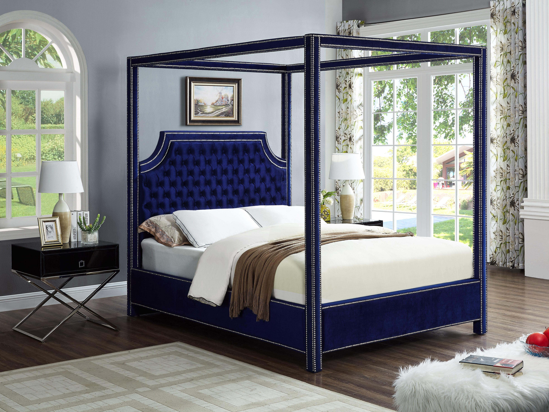 Big Canopy Bed Whaciendobuenasmigas