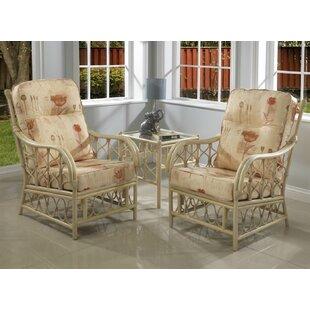 Desiree 3 Piece Armchair Set By Beachcrest Home