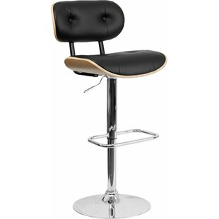 Eberhard Adjustable Height Swivel Bar Stool