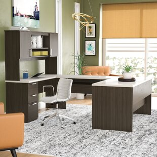 Holman U-Shape Executive Desk By Ebern Designs