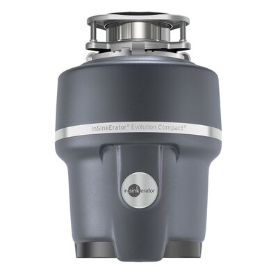 Evolution Compact 3/4 HP Continuous Feed Garbage Disposal (with Optional  Power Cord). By InSinkErator
