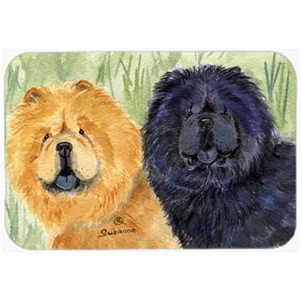 Caroline S Treasures Hedgehog And Hydrangea Glass Cutting Board Wayfair
