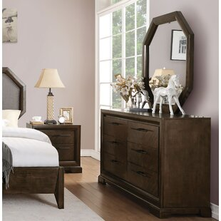 Read Reviews Bloomington 6 Drawer Double Dresser by Foundry Select