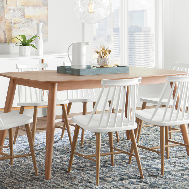 Magnificent Modern Scandinavian Dining Room Allmodern Short Links Chair Design For Home Short Linksinfo